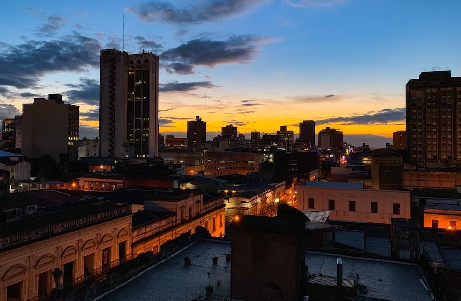 ista do centro de Assunção, capital do Paraguai (Foto: Karl Vienna/Wikimedia Commons)